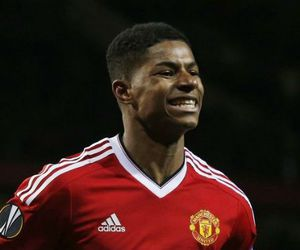 manchester united, marcus rashford, and paul scholes image