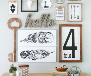 home decor, ideas, and picture frames image