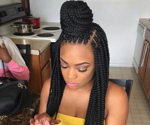 braids and box braids image