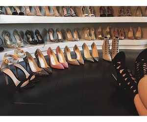 shoes, fashion, and kylie jenner image