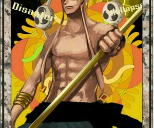 one piece, tarot, and enel image