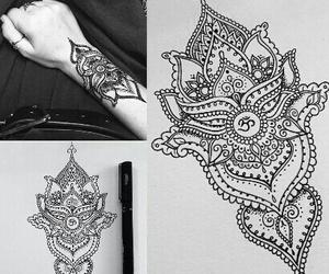 tattoo, beautiful, and black and white image