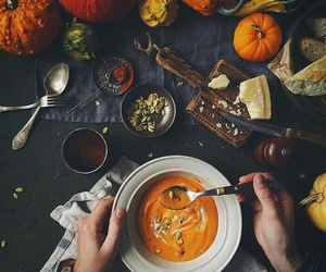 food, pumpkin, and spices image