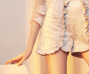 beige, photography, and shorts image
