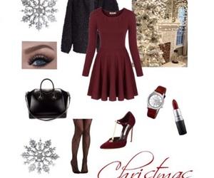 bag, black, and christmas image