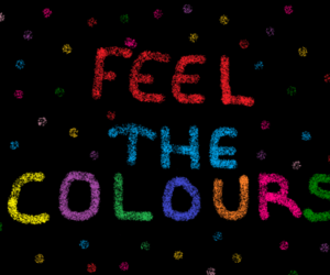 color, love, and colorful image