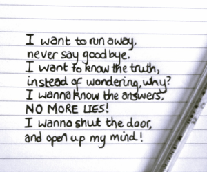 quotes, runaway, and linkin park image