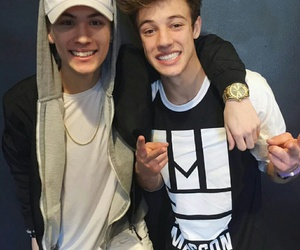 cameron dallas, carter reynolds, and magcon image