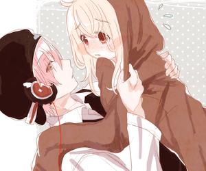 anime, feelings, and blush image