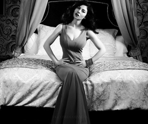 beautiful, black and white, and celebrity image