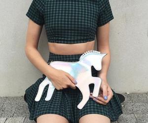 unicorn, fashion, and grunge image