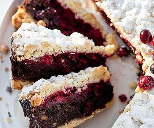 berries, dessert, and sweet image