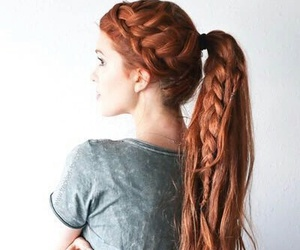 beautiful hair, beauty, and ginger image