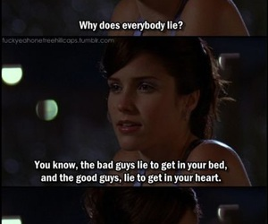 one tree hill, quote, and brooke davis image