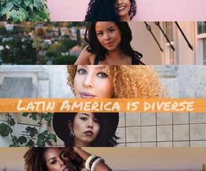 Afro, asian, and european image
