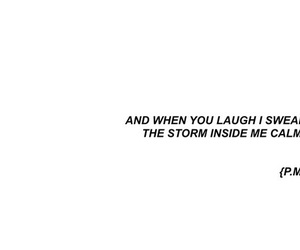 quotes, laugh, and storm image