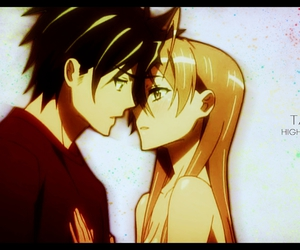 highschool of the dead, anime, and takashi image