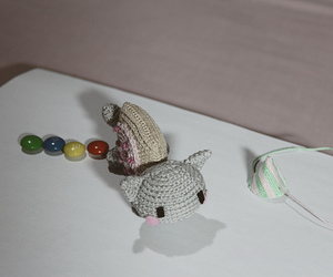 amigurumi, nyan cat, and fun image