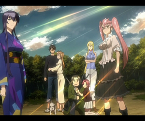 anime, hotd, and highschool of the dead image
