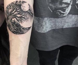 arm, black, and circle image