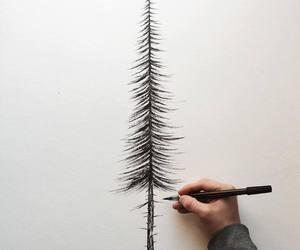 tree, art, and draw image