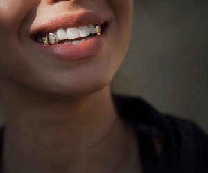 smile and gold image