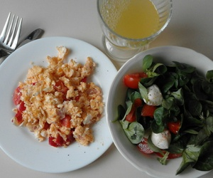 eggs, food, and pineapple image