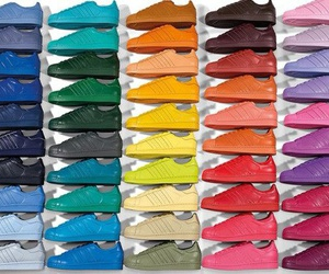 adidas, superstar, and colors image