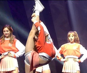 flexibility, kpop, and cosmic girls image