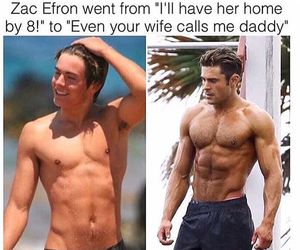 zac efron, Hot, and funny image