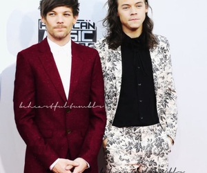 cuple, larry stylinson, and louis tomlinson image