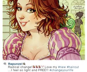 disney, rapunzel, and instagram image