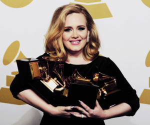 Adele, grammy, and grammys image