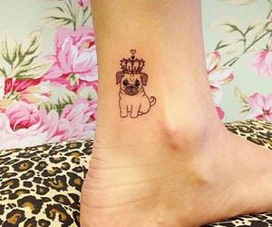 dog and tattoo image