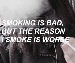 smoke, smoking, and bad image