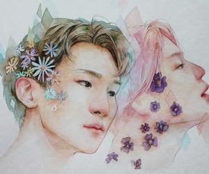 fan art, Jonghyun, and key image