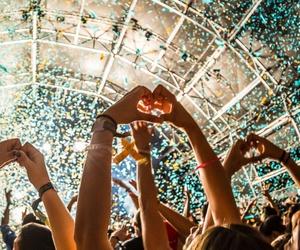 dj, music, and festival image