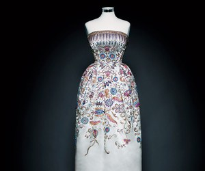 Christian Dior, dress, and fashion image