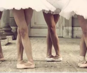 girl, ballet, and art image