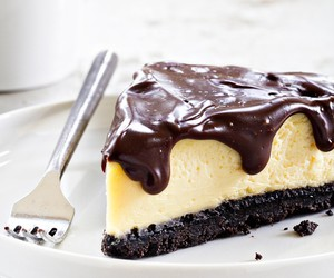 cheesecake, chocolate, and desserts image