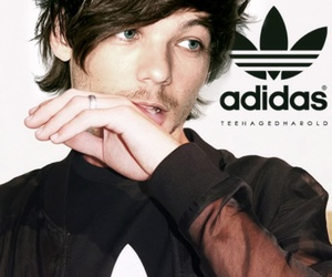 louis tomlinson, adidas, and louis image
