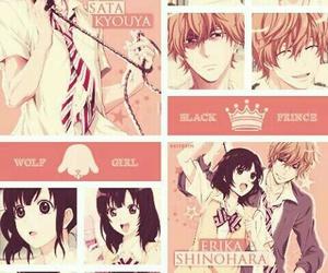 anime, sata, and erika image