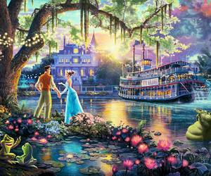 art, disney, and princess and the frog image