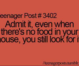 quote, food, and teenager image
