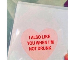 drunk and love image