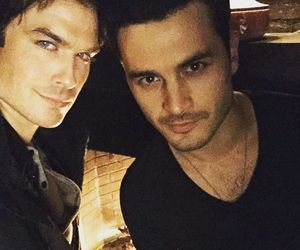 ian somerhalder, tvd, and enzo image