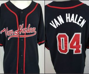 apparel, ebay, and van halen image