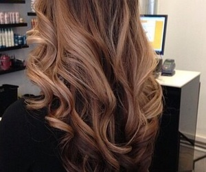 hair, hairstyle, and curly image