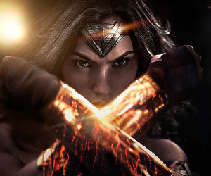 wonder woman, gal gadot, and dc comics image
