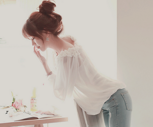 ulzzang, fashion, and kfashion image